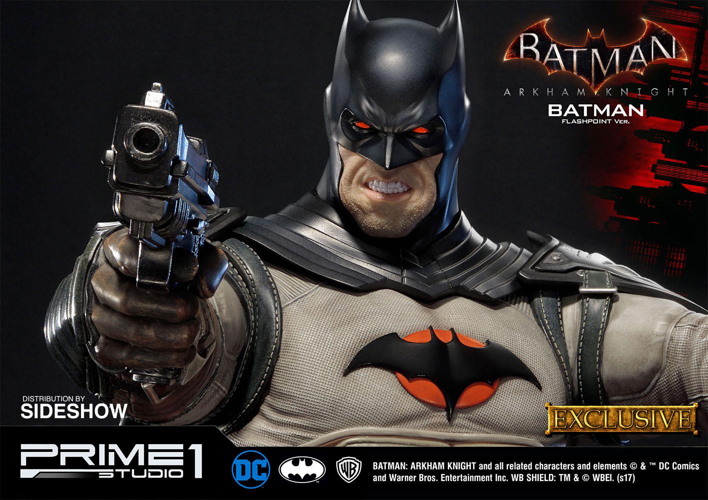 batman arkham knight flashpoint version batman statue