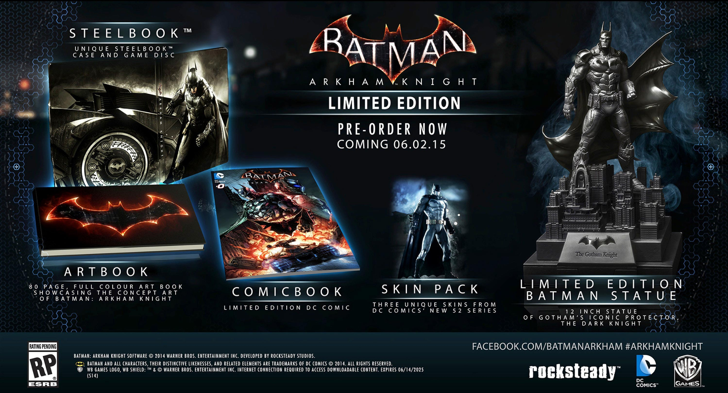 Batman arkham knight limited edition collection voltagebd Choice Image