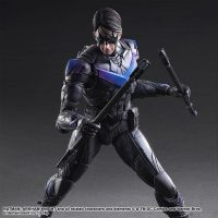 Batman Arkham Knight Nightwing Play Arts Kai Action Figure 3