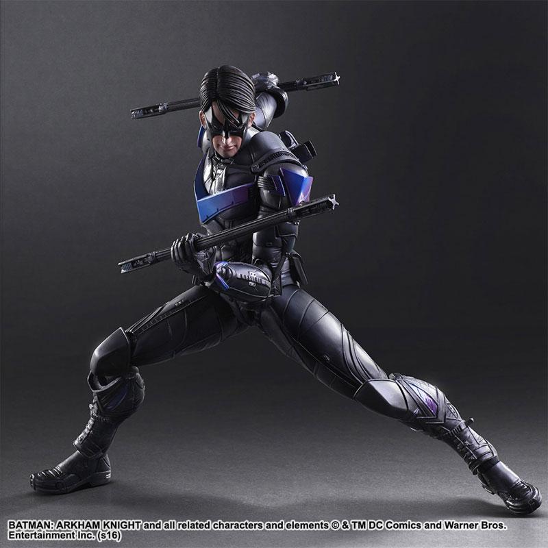 Batman Arkham Knight Nightwing Play Arts Kai Action Figure