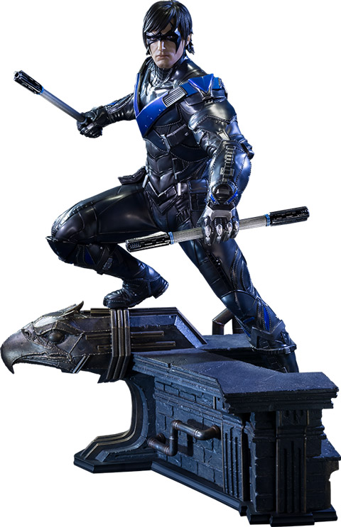 batman-arkham-knight-nightwing-statue
