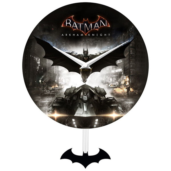 Batman Arkham Knight Pendulum Wall Clock