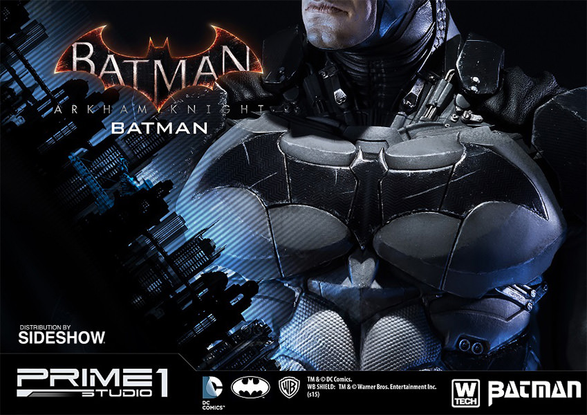 Batman Arkham Knight Polystone Statue Bat Logo