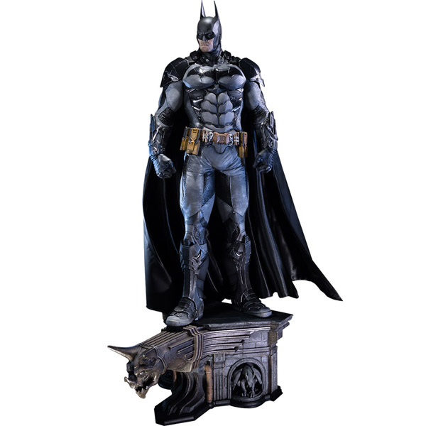 Batman Arkham Knight Batcave: Batman: Arkham Knight Polystone Statue