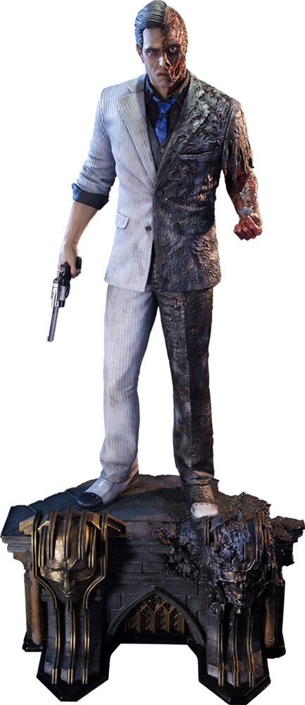 Batman Arkham Knight Two-Face Polystone Statue