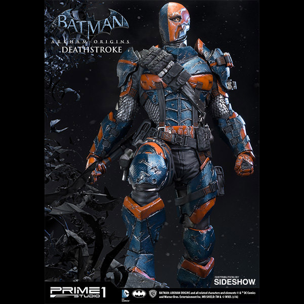 Deathstroke Without Mask Batman: Arkham Origins...