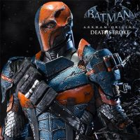 Batman Arkham Origins Deathstroke Statue small
