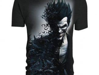 Batman Arkham Origins Joker Smiles T-Shirt