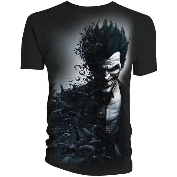 Batman Arkham Origins Joker Smiles T-Shirt
