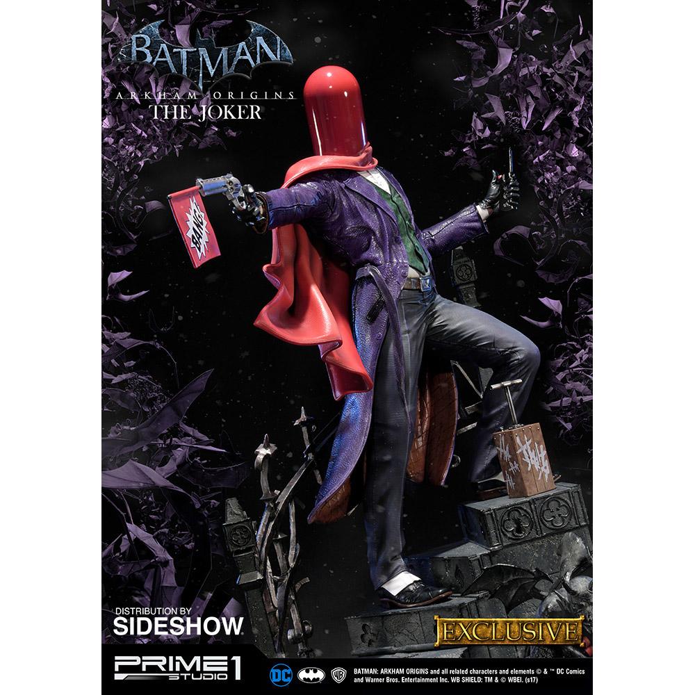 Batman arkham origins the joker statue voltagebd Images