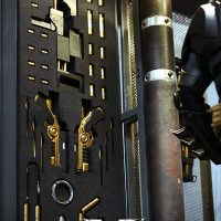 Batman Armory Left Weapons