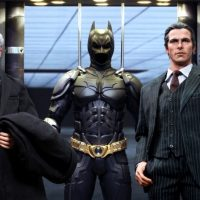 Batman Armory With Bruce Wayne And Alfred Pennyworth Sixth Scale Figures