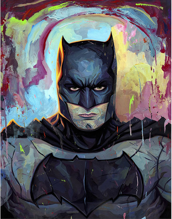 Batman Art Print