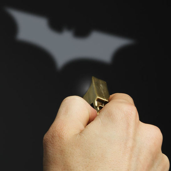 Batman Bat Signal Keychain