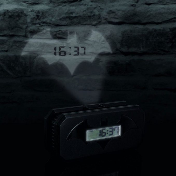 Batman Bat-Signal Projection Alarm Clock