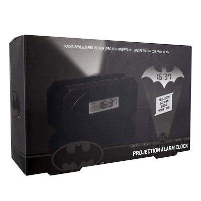Batman Bat Signal Projection Alarm Clock Box