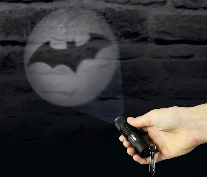 Batman Bat Signal Projection Flashlight