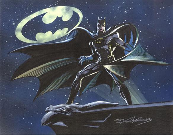Batman Art Print Batman Bat-sky Art Print