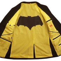 Batman Bat Symbol Seam Blazer