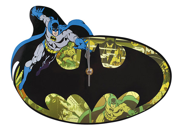 Batman Bat Symbol Wall Clock