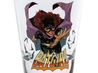 Batman Batgirl Shot Glass