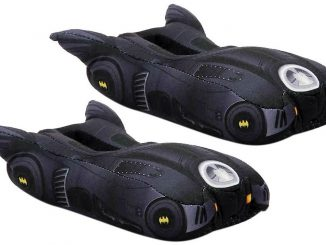 Batman Batmobile Toddler Youth Slippers
