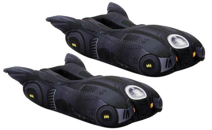 Batman Batmobile Toddler Youth Slippers