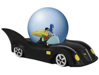 Batman Batmobile Water Globe