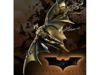 Batman Begins Gliding Batman Bronze Statue Sculpture