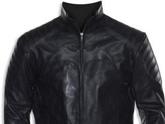 Batman Begins Leather Motorcycle Jacket