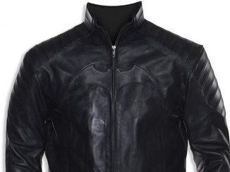 Batman Begins Leather Motorcycle Jacket