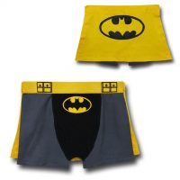 Batman Belt Caped Underwear