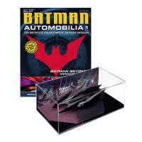 Batman Beyond Animated Series Batmobile Vehicle with Collector Magazine