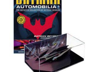 Batman Beyond Animated Series Batmobile Vehicle with Collector Magazine