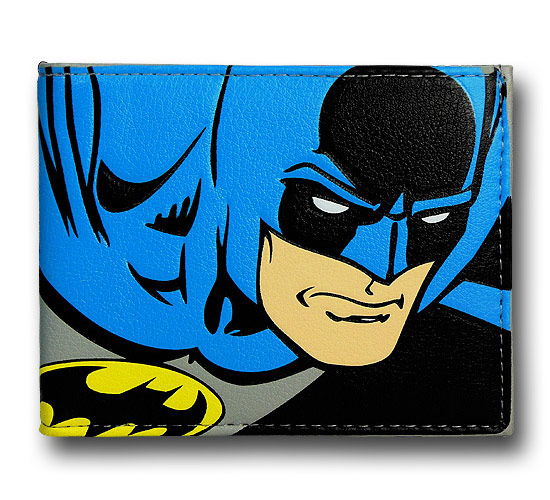 Batman Big Caped Crusader Bi Fold Wallet