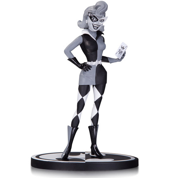 Batman Black and White Harley Quinn by Paul Dini Statue