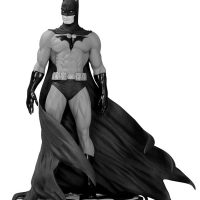 Batman Black and White Statue by Michael Turner