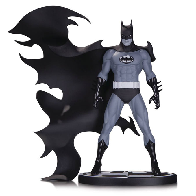 Batman Black and White Statue by Norm Breyfogle