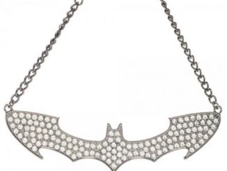 Batman Bling Logo Choker