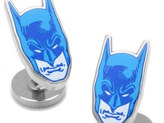 Batman Blue Mask Comics Cufflinks