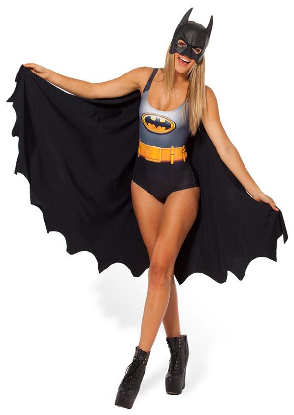 Batman Cape Swimsuit