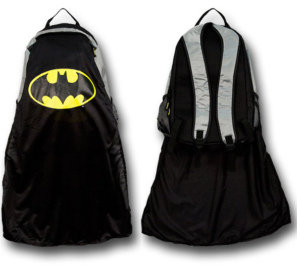 Batman Caped Backpack