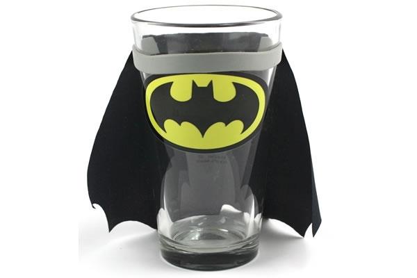 Batman Caped Pint Glass