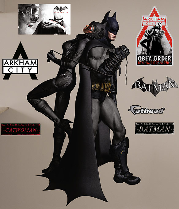Batman Catwoman Duo Wall Graphic
