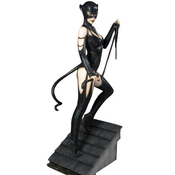 Batman Catwoman Fantasy Figure Gallery DC Comics Collection Luis Royo Statue