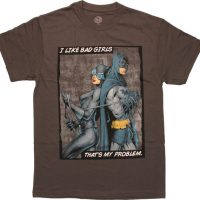 Batman Catwoman I Like Bad Girls T Shirt