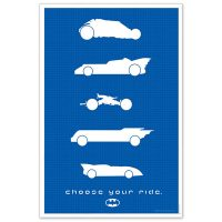 Batman - Choose Your Ride Limited Edition Poster