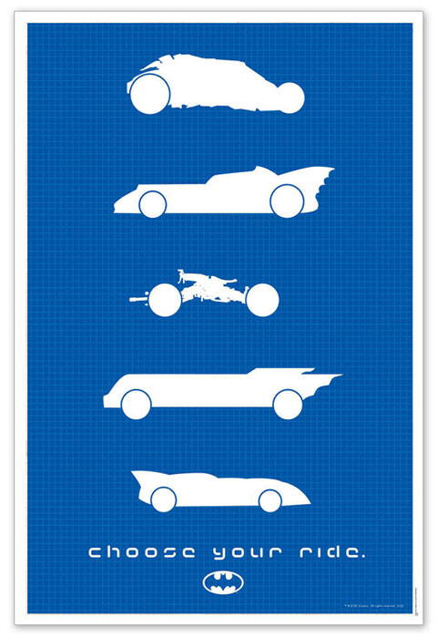Batman - Choose Your Ride Limited Edition Print