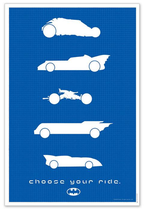 Batman - Choose Your Ride Limited Edition Print