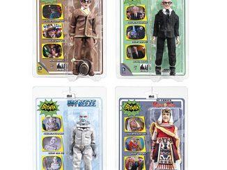 Batman Classic 1966 TV Series 4 8-Inch Action Figure Set